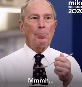 """WATCH: Clip of Mike Bloomberg """"enjoying"""" his Big Gay Ice Cream is a cringe"""