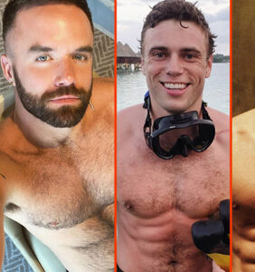Gus Kenworthy's deep dive, Laith Ashley's forest walk, & Jared Leto's bell bottoms