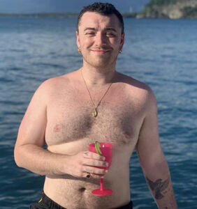 Sam Smith posts body positivity message on Instagram