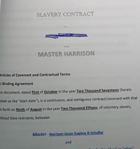 After sending ex's nudes to his mom and grandma, man tries using sex slave contract to avoid penalty