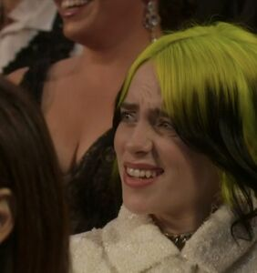 Billie Eilish's facial expressions were the only memorable moments from last night's Oscars