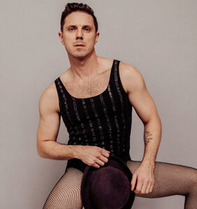 "Jake Shears shows off his ""fruity unicorn"""