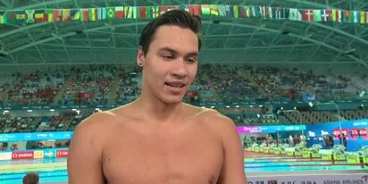Canadian swim champ Markus Thormeyer comes out