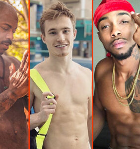 Tom Daley's stretch, Greg Louganis' pups, & Colton Haynes' ice picks