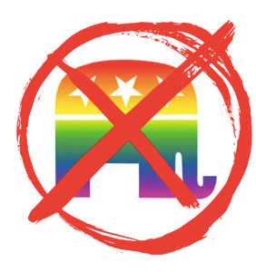 Log Cabin Republicans shunned by their own party, can't even get a booth at upcoming convention