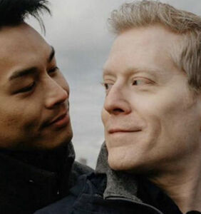 Anthony Rapp's engagement shoot photos have just gone online