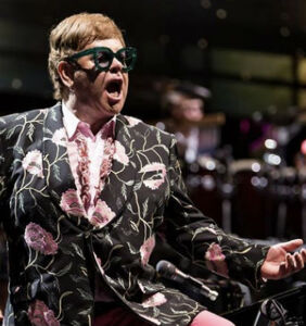 Dramatic footage shows Elton John forced off stage by rainstorm