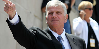Franklin Graham compares Republicans who voted to impeach Trump to Judas