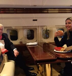 Ivanka Trump tweets fond memory of time she ate McDonald's with her dad in Iowa