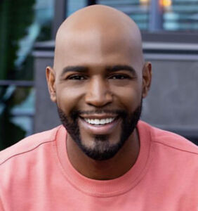 Karamo Brown launches skincare range specifically for bald men