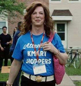 Sean Hayes plays a middle-aged, cisgender woman in his latest film