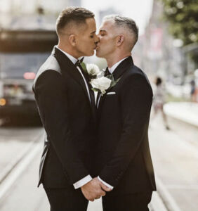 Same-sex couple's wedding judged to be 'Wedding of the Year'