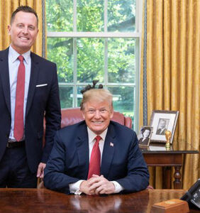 Richard Grenell celebrates Veteran's Day by thanking a war criminal. Really.