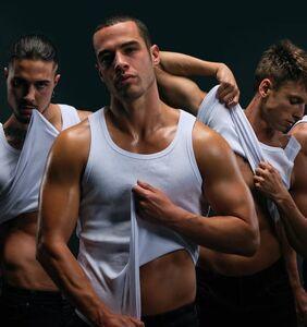 PHOTOS: Meet the cast of Netflix's new crimefighting male stripper show