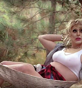 Stuck at home? Biqtch Puddin has a live internet drag show for you!