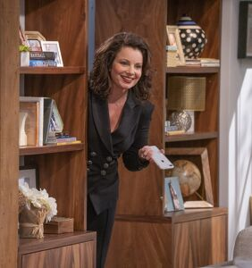 Fran Drescher of 'Indebted' spills on her comedy and how to stay resilient in tragic times