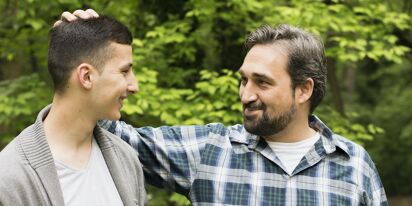 Father wonders if he's under-reacting to his son's coming out
