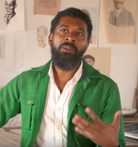 WATCH: George McCalman on how San Francisco inspired his Black history drawings
