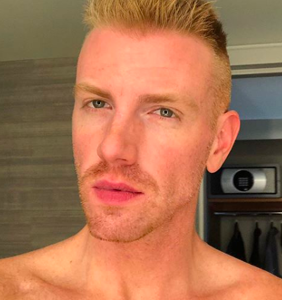 Daniel Newman kindly invites you to slide into his DMs after posting very revealing selfie