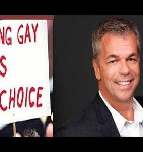 Canadian politician who said being LGBTQ is a 'choice' gets blocked