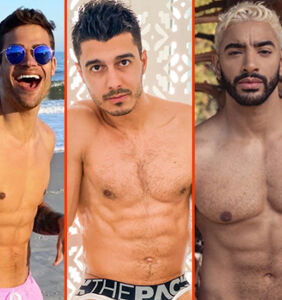 Bad Bunny's birthday suit, John Legend's new trunks, & Laith Ashley's blond locks