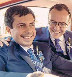 Pete and Chasten Buttigieg get standing ovation attending NYC gay play