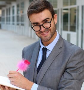 What's the origin of the 'well-dressed, articulate, educated gay man' stereotype?
