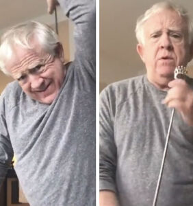 Leslie Jordan trying to avoid going stir crazy is all of us right now