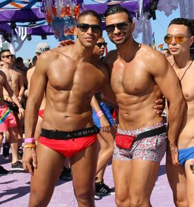 The boys at Winter Party had an abs-olutely great time in Miami