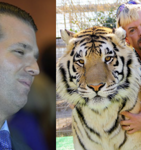 WATCH: Donald Trump Jr.'s love affair with 'Tiger King' Joe Exotic is beyond disturbing