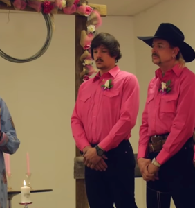 WATCH: Joe Exotic's entire throuple wedding video has found its way online