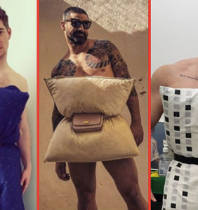 "PHOTOS: More thirsty pics of guys doing the ""Quarantine Pillow Challenge"" because why not?"