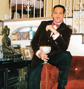 After the last Black-owned gay bar in his city closed, he turned his home into a posh nightclub