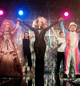 Johnnie Ingram & Steve Warren on how drag queens can save America in 'We're Here'