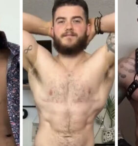 Trans men strip to their underwear in fun, viral video