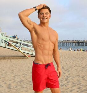 "Zac Efron calls his ripped 'Baywatch' beach bod ""stupid"""
