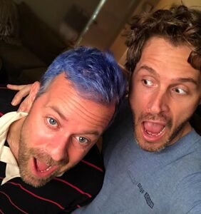Blue envy hair, Shawn Mendes and my inner party monster