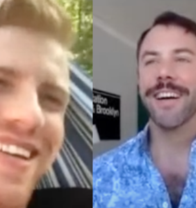 WATCH: 'Walking Dead' star Daniel Newman queerantines about life (and OnlyFans) with John Halbach