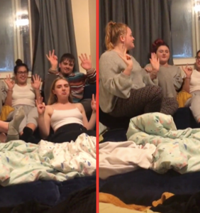 Woman confronts gay best friend for sleeping with her boyfriend in dramatic TikTok video
