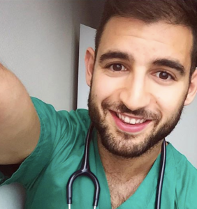Meet the hunky Spanish doctor who beat coronavirus and just became Mr. Gay World Pride