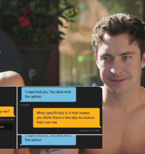Someone thought Brian Jordan Alvarez' Grindr profile was fake & he posted the hilarious receipts