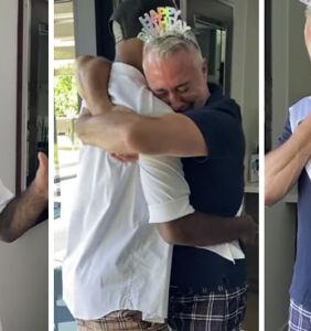 WATCH: Karamo Brown makes fiancé Ian Jordan burst into tears