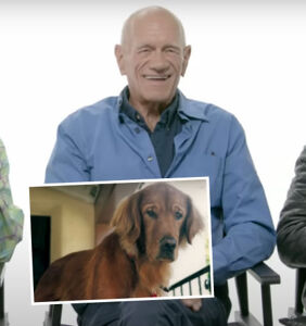 WATCH: Older gay men remembering their beloved past pets is beautiful