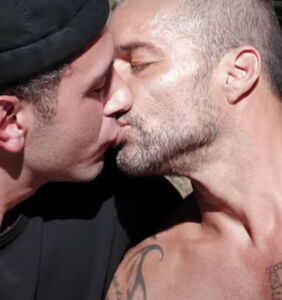 Ricky Martin and Jwan Yosef share passionate kiss in new music video
