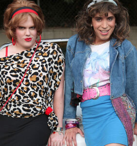 Daily Dose: Two '80s chicks climb the social ladder. Lookout below…