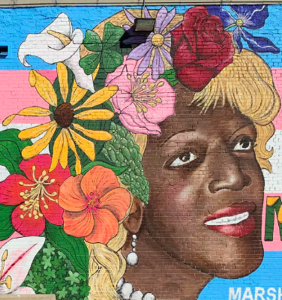 "Marsha P. Johnson & Sylvia Rivera memorial mural in Dallas: ""My God, the revolution is here."""