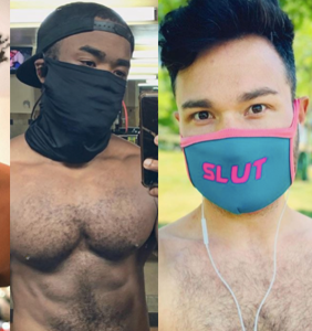 PHOTOS: Instagays show off their best #mask4mask looks