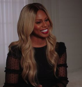 WATCH: Laverne Cox spills on Bugs Bunny and her new film 'Disclosure'