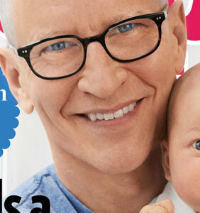 Anderson Cooper shows off son Wyatt on the cover of People magazine