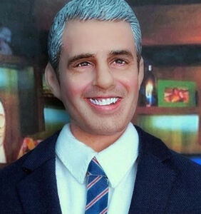 WATCH: Andy Cohen's son reacts to a lifelike doll of his father